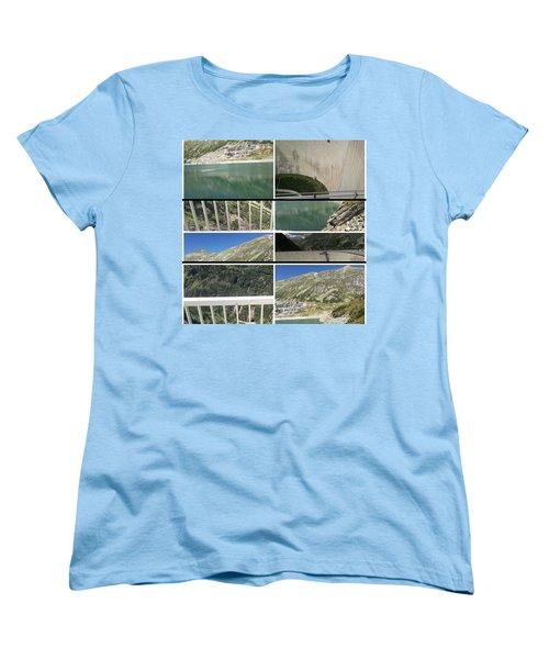 Women's T-Shirt (Standard Cut) featuring the photograph Qui Se Noie by Sir Josef - Social Critic - ART