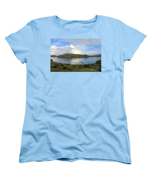 Quiet Bay Women's T-Shirt (Standard Cut) by Sergey Lukashin