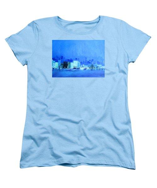 Quiet City Night Women's T-Shirt (Standard Cut)