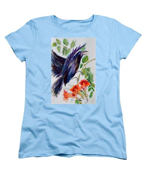 Quoi II Women's T-Shirt (Standard Cut) by Beverley Harper Tinsley