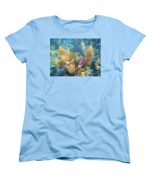 Rainbow Forest Women's T-Shirt (Standard Cut) by Adam Jewell