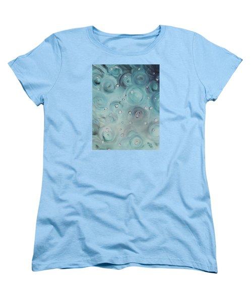 Raindrops Women's T-Shirt (Standard Cut) by Patricia Olson
