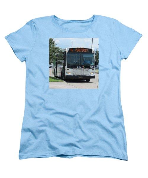 Cemeteries - Rapid Transit Authority - New Orleans La Women's T-Shirt (Standard Cut)