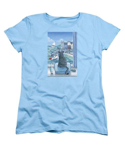 Rather Mew Women's T-Shirt (Standard Cut) by Peter Adderley