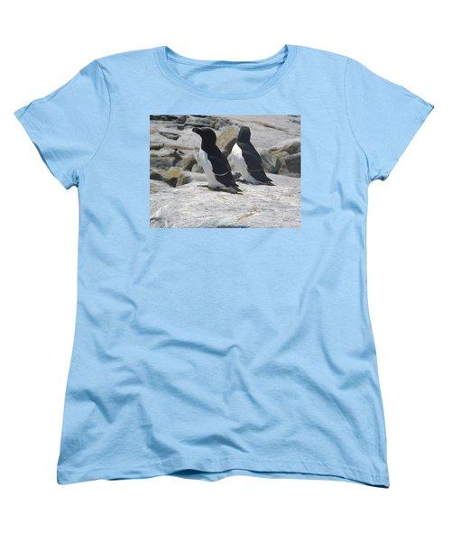 Razorbills 2 Women's T-Shirt (Standard Cut) by James Petersen
