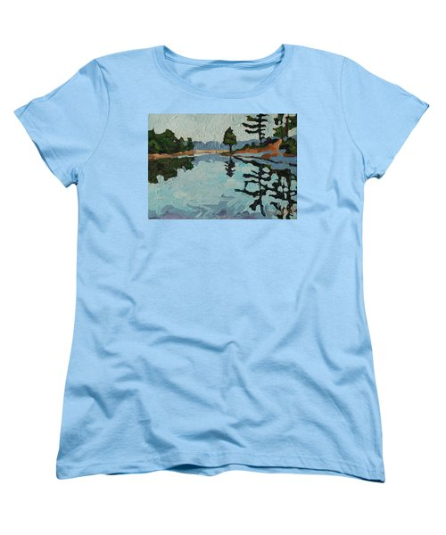Reach Long Women's T-Shirt (Standard Cut) by Phil Chadwick