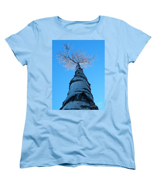 Reaching For The Light Women's T-Shirt (Standard Cut) by Brian Boyle