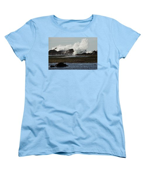 Reaching For The Sky Women's T-Shirt (Standard Cut) by Dave Files
