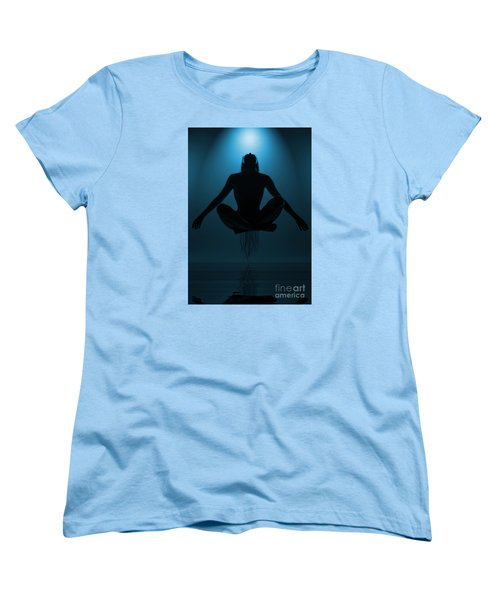 Women's T-Shirt (Standard Cut) featuring the photograph Reaching Nirvana.. by Nina Stavlund