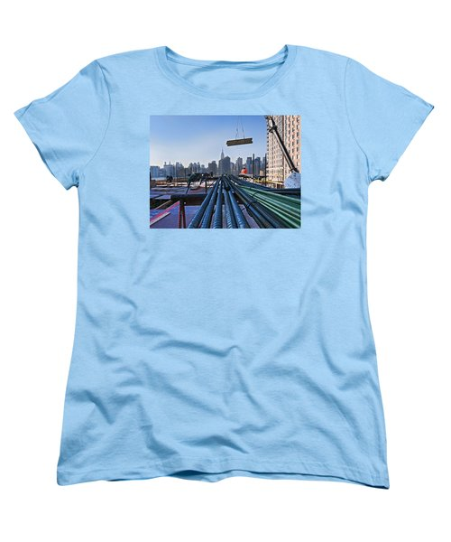 Rebar Women's T-Shirt (Standard Cut) by Steve Sahm