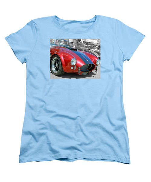 Women's T-Shirt (Standard Cut) featuring the photograph Red Cobra by Shoal Hollingsworth