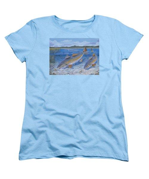 Red Creek In0010 Women's T-Shirt (Standard Cut) by Carey Chen