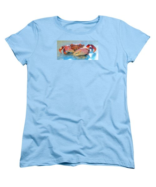 Women's T-Shirt (Standard Cut) featuring the photograph Redrock by Adria Trail