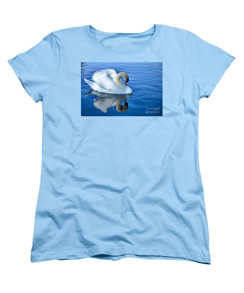 Reflecting Women's T-Shirt (Standard Cut) by Deb Halloran