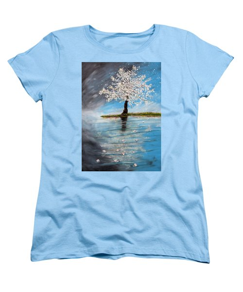 Reflection Women's T-Shirt (Standard Cut) by Meaghan Troup