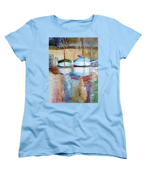 Reflections Women's T-Shirt (Standard Cut) by Janet Garcia