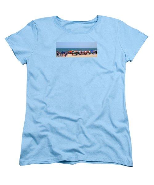 Rehobath Beach Delaware Women's T-Shirt (Standard Cut) by Patti Whitten