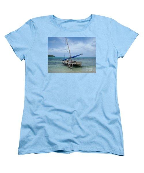 Relaxing After Sail Trip Women's T-Shirt (Standard Cut) by Jola Martysz