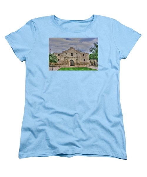 Remember The Alamo Women's T-Shirt (Standard Cut) by Barry Jones