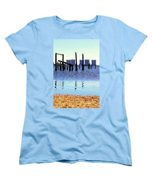 Women's T-Shirt (Standard Cut) featuring the photograph Reminders by Faith Williams