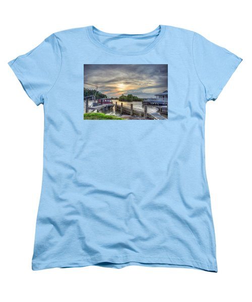 Women's T-Shirt (Standard Cut) featuring the photograph Remnants by Charlotte Schafer