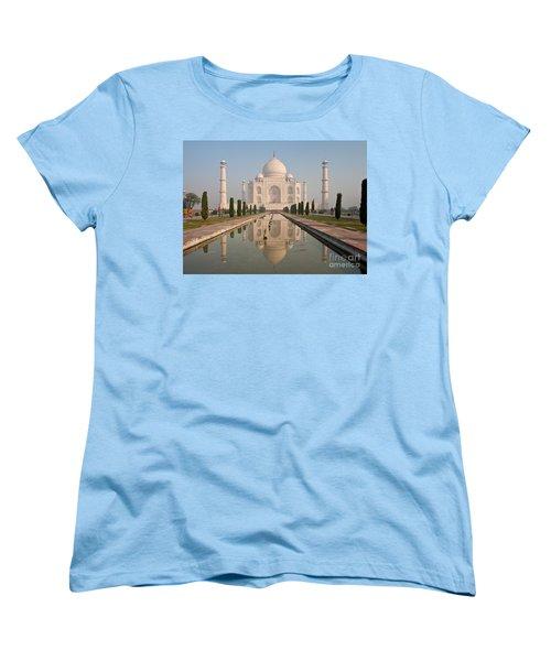 Resplendent Taj Mahal Women's T-Shirt (Standard Cut) by Mike Reid