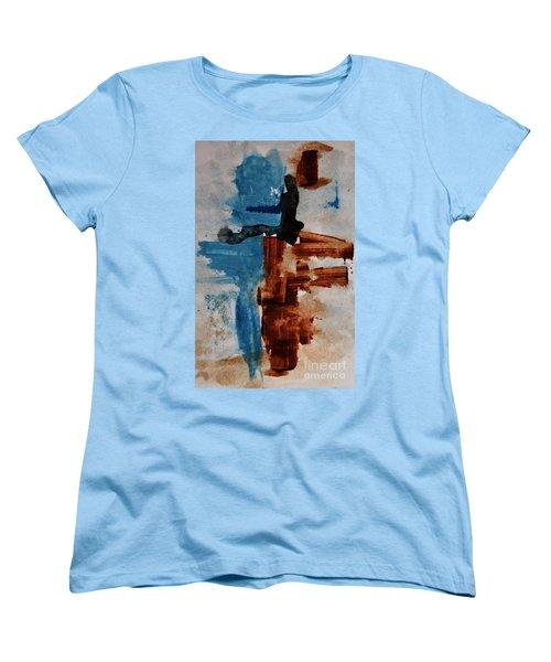 Restart Women's T-Shirt (Standard Cut) by Andrea Anderegg