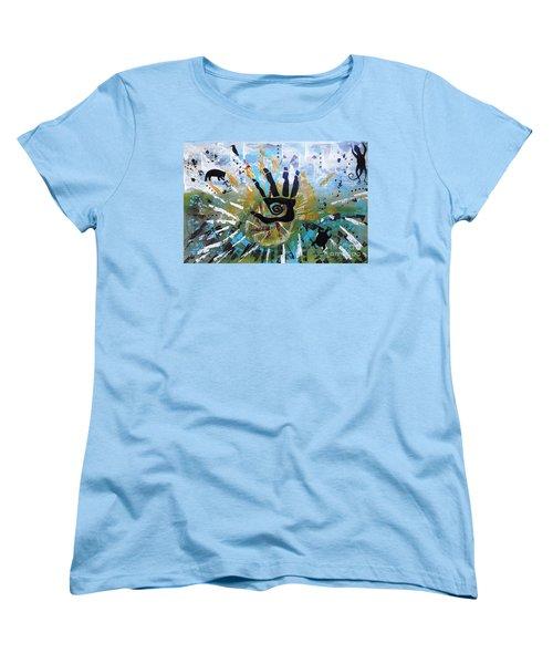 Rhythm Of Life Women's T-Shirt (Standard Cut)