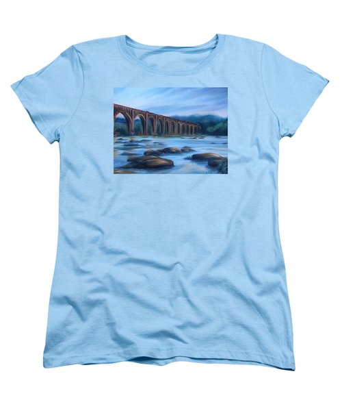Richmond Train Trestle Women's T-Shirt (Standard Cut)
