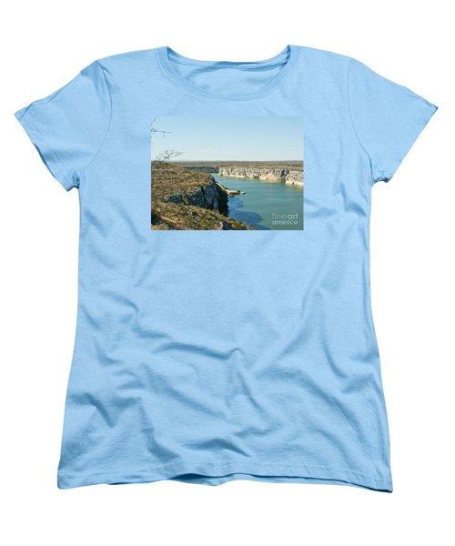 Women's T-Shirt (Standard Cut) featuring the photograph Rio Grande by Erika Weber