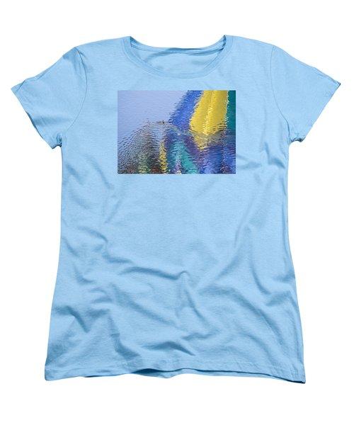 Ripples Women's T-Shirt (Standard Cut) by Alex Lapidus