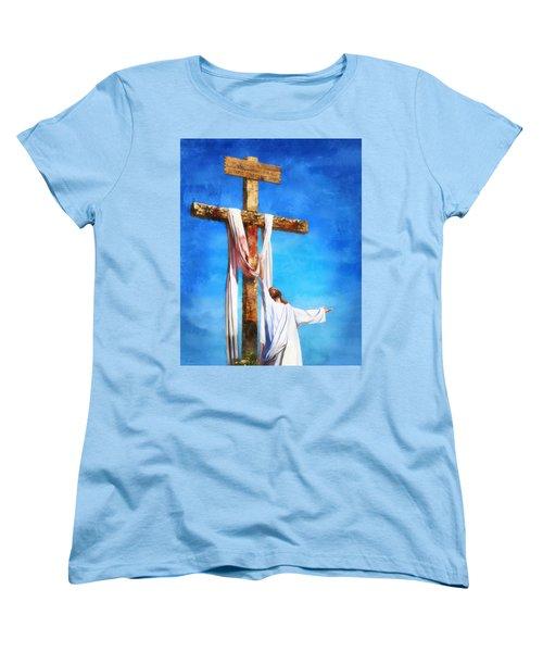 Risen Women's T-Shirt (Standard Cut) by Francesa Miller