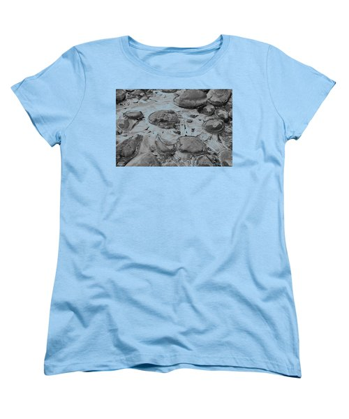 River Ice Blue Women's T-Shirt (Standard Cut) by Jeremy Rhoades