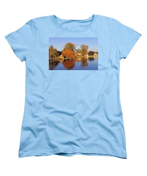 River Thames At Marlow Women's T-Shirt (Standard Cut) by Tony Murtagh