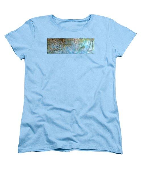 River's Stories  Women's T-Shirt (Standard Cut) by Delona Seserman