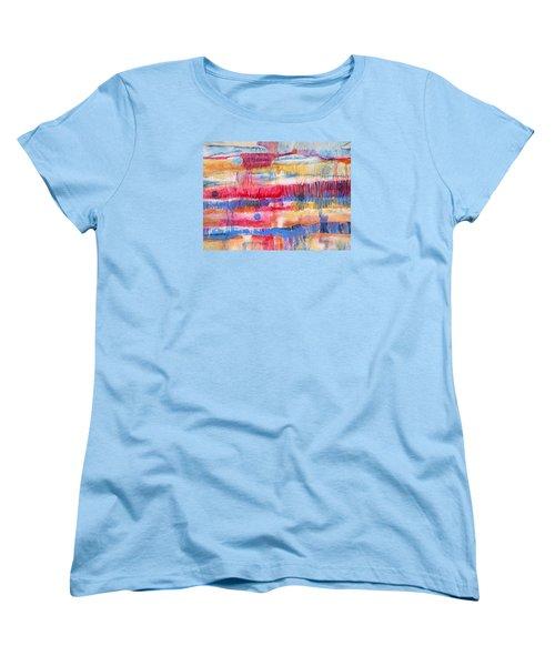 Road Trip Women's T-Shirt (Standard Cut) by Lynda Hoffman-Snodgrass