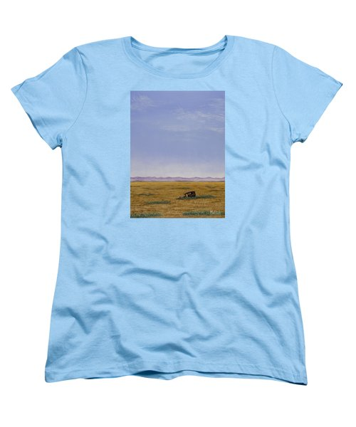 Roadside Attraction Women's T-Shirt (Standard Cut) by Jack Malloch
