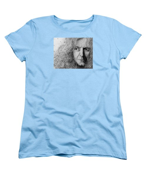Robert Plant Women's T-Shirt (Standard Cut) by Patrice Torrillo