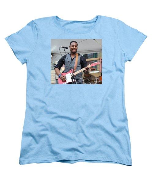 Women's T-Shirt (Standard Cut) featuring the photograph Robert Randolph  by Fiona Kennard