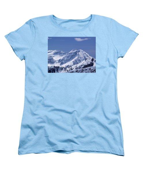 Rocky Mountain High Women's T-Shirt (Standard Cut) by Bill Gallagher