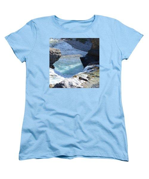 Elbow Falls Water  1.1 Women's T-Shirt (Standard Cut) by Cheryl Miller