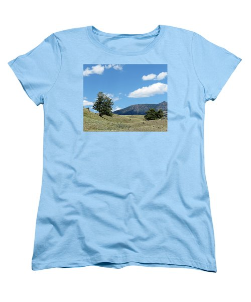 Women's T-Shirt (Standard Cut) featuring the photograph Rolling Hills by Laurel Powell