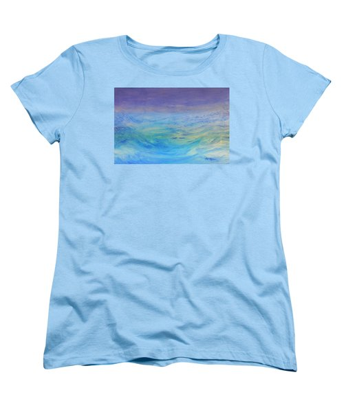 Rough Waters Women's T-Shirt (Standard Cut) by Mark Minier