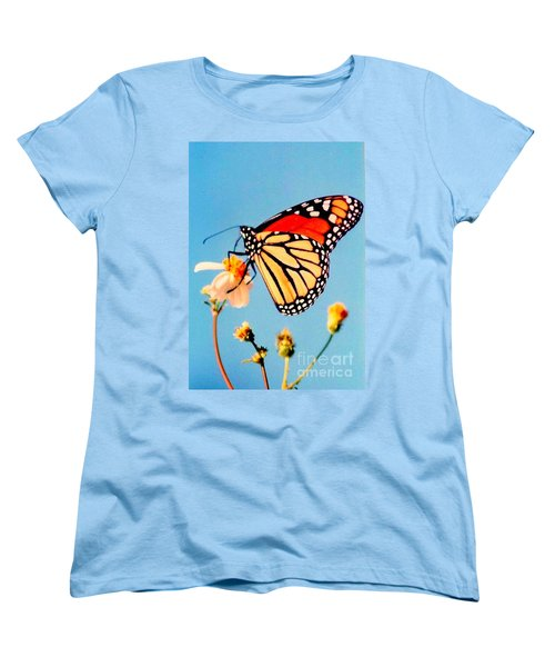 Women's T-Shirt (Standard Cut) featuring the photograph Mississippi Royal Monarch  by Michael Hoard