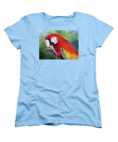 Ruby Having Lunch Women's T-Shirt (Standard Cut) by Roger Rockefeller