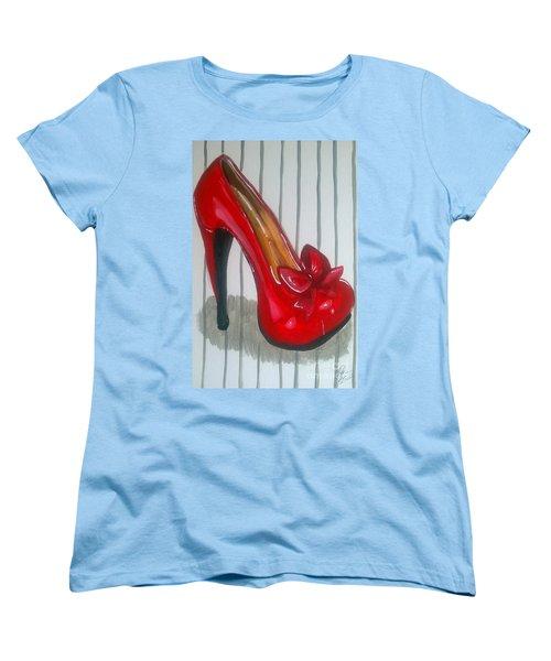 Ruby Women's T-Shirt (Standard Cut) by Marisela Mungia