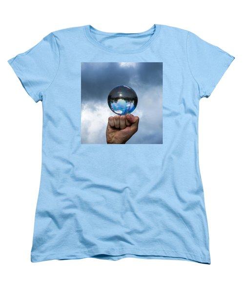 Rule The World - Featured 3 Women's T-Shirt (Standard Cut) by Alexander Senin
