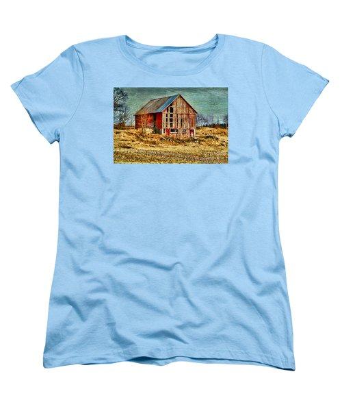 Rural Rustic Vermont Scene Women's T-Shirt (Standard Cut) by Deborah Benoit