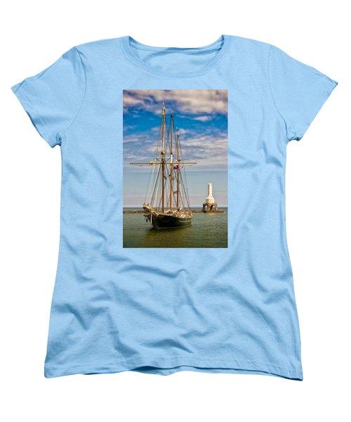 s/v Denis Sullivan Women's T-Shirt (Standard Cut) by James  Meyer
