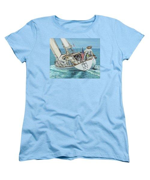 Sailing Away Women's T-Shirt (Standard Cut)